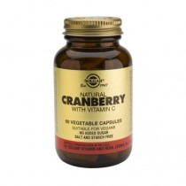 Cranberry Extract with Vit. C x 60 cps. Vegan Solgar