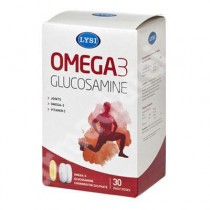 Omega-3 30Cps + 60Cpr Glucosamine Si Chondroitin LYSI