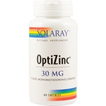 OPTIZINC 30mg 60cps SOLARAY