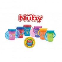 Nuby Wonder Cup 360⁰ decorat cu manere +6