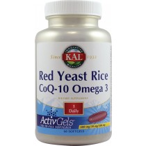 Red Yeast Rice Coq-10 Omega 3 60Cps Kal