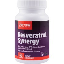 Resveratrol Synergy 20Mg, 60Cps Jarrow, Secom