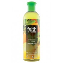 Şampon natural Cu Grapefruit Și Portocală 400ml Faith in Nature