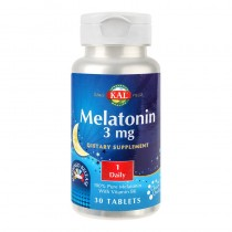 Melatonin (somn usor) 3Mg - 30Cpr Kal Secom