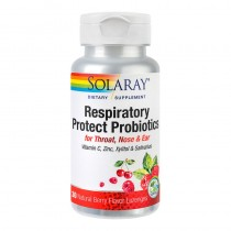 Respiratory Protect Probiotics 30Cpr Solaray Secom