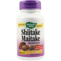 SHIITAKE MAITAKE 60cps NATURE'S WAY