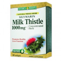 NB SILYMARIN MILK THISTLE 1000MG 60CPS WALMARK