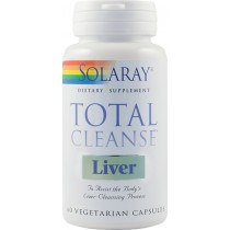 TOTAL CLEANSE LIVER 60cps SOLARAY
