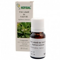 Ulei Volatil De Salvie 10Ml HOFIGAL