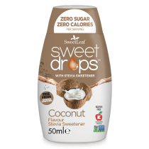 Sweet Drops - Indulcitor Stevie cu Cocos  50ml     Sweetleaf