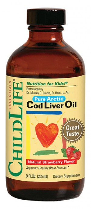 COD LIVER OIL (pentru copii) 237ml ChildLife Essentials