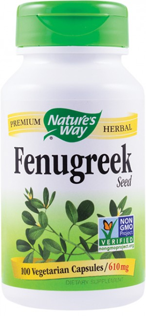 FENUGREEK 610mg 100cps NATURE'S WAY