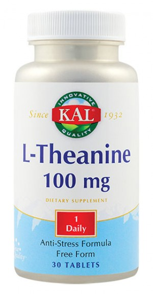 L-THEANINE 100mg 30cpr KAL