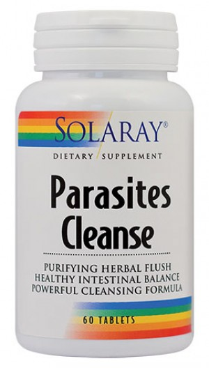 PARASITES CLEANSE 60tb SOLARAY