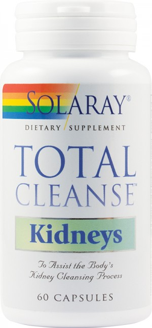 TOTAL CLEANSE KIDNEYS 60cps SOLARAY